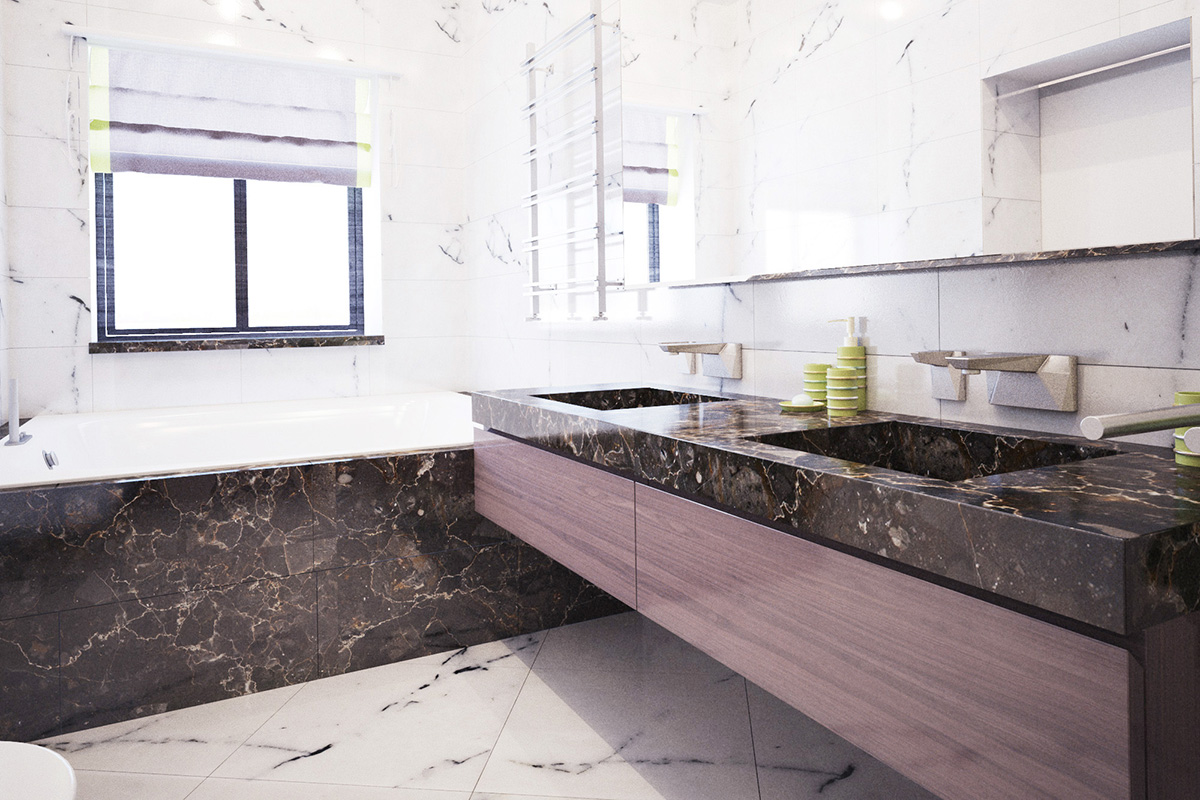 012 Дизайн интерьера двухуровневой квартиры