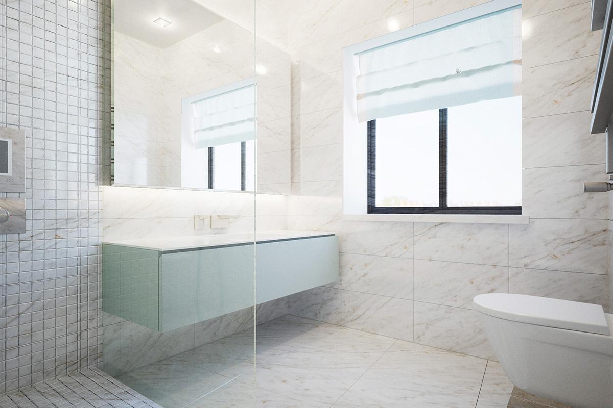 013 Дизайн интерьера двухуровневой квартиры