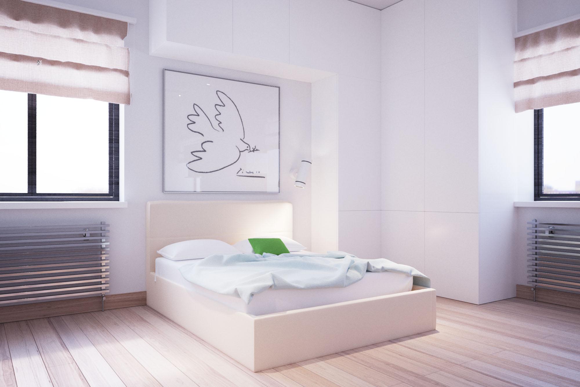 015 Дизайн интерьера двухуровневой квартиры