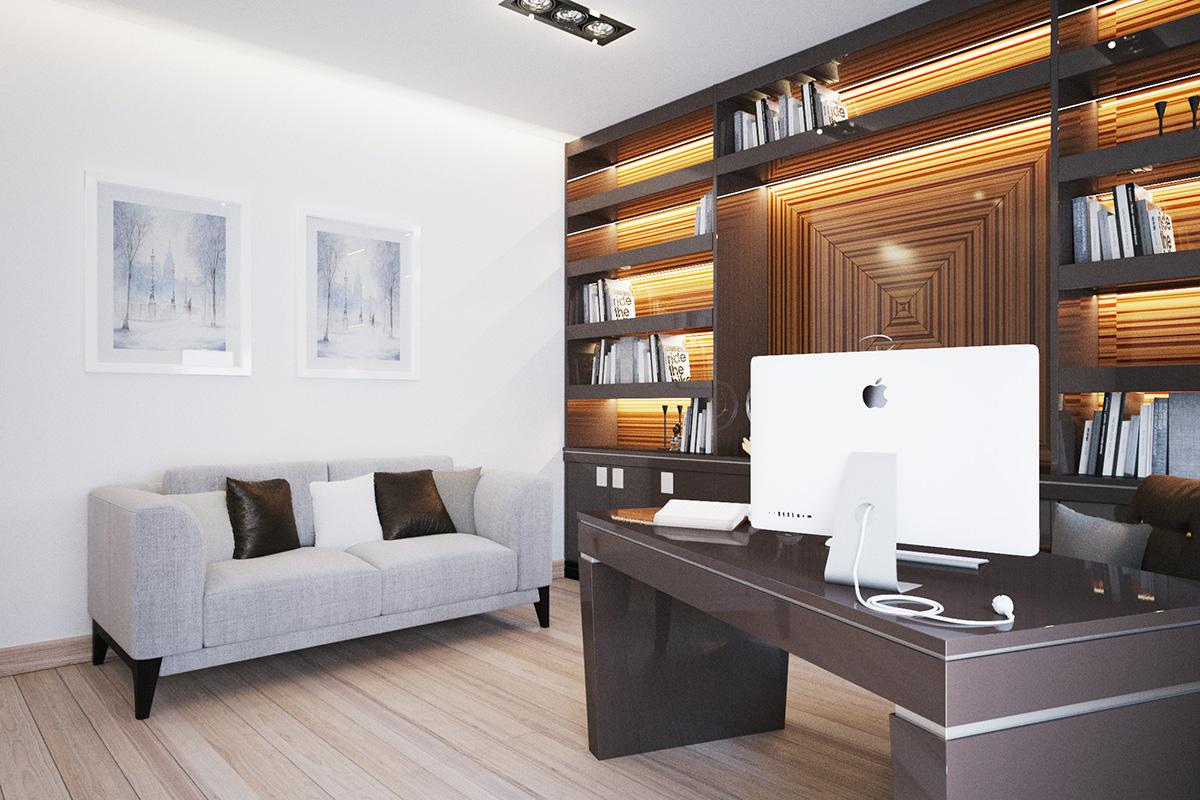 019 Дизайн интерьера двухуровневой квартиры