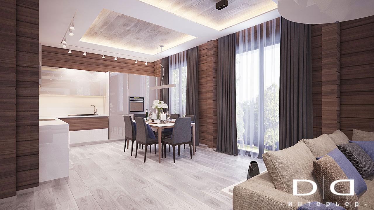 Дизайн интерьера дома, деревянного дома из бруса Минск dd-interior.by 001TVRayCam018
