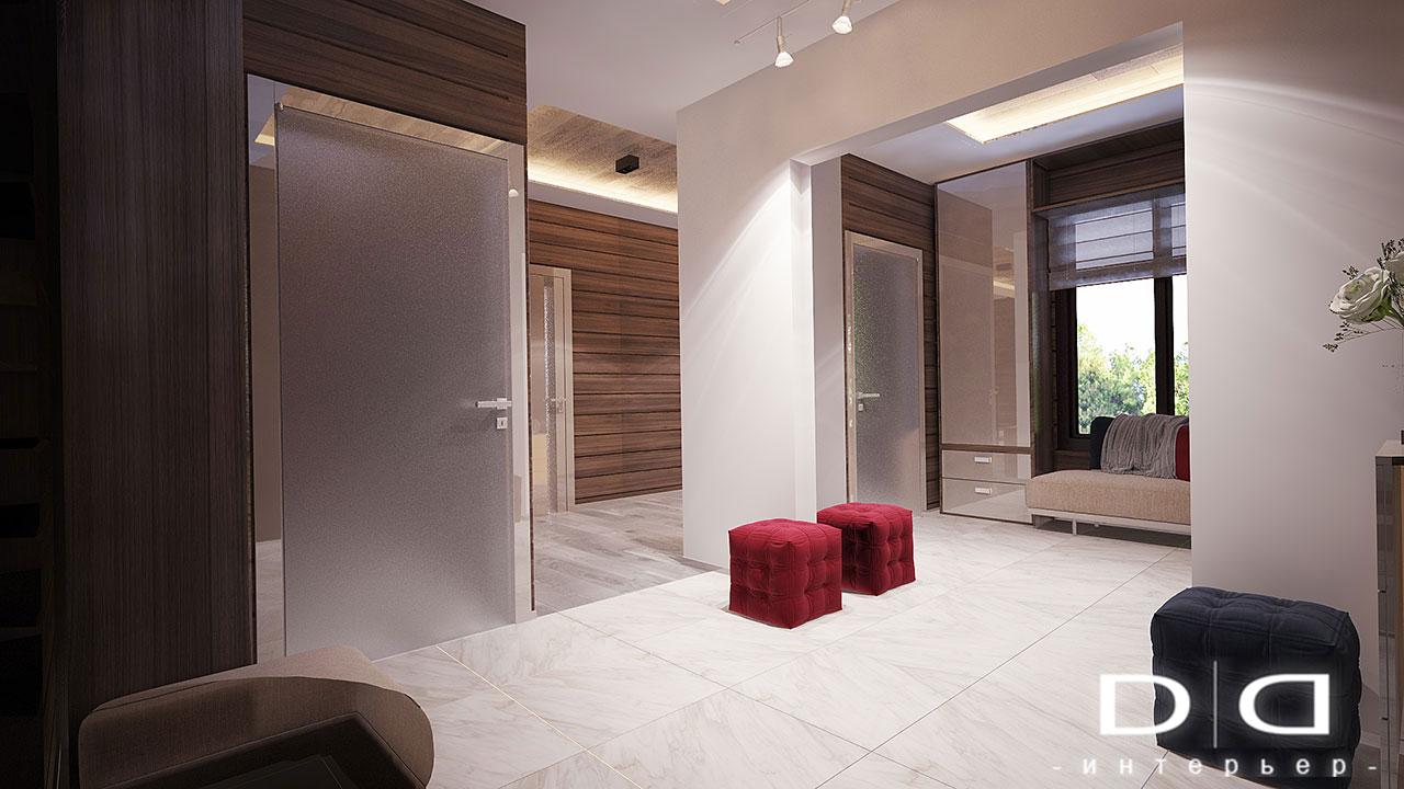 Дизайн интерьера дома, деревянного дома из бруса Минск dd-interior.by 001Tхол-001