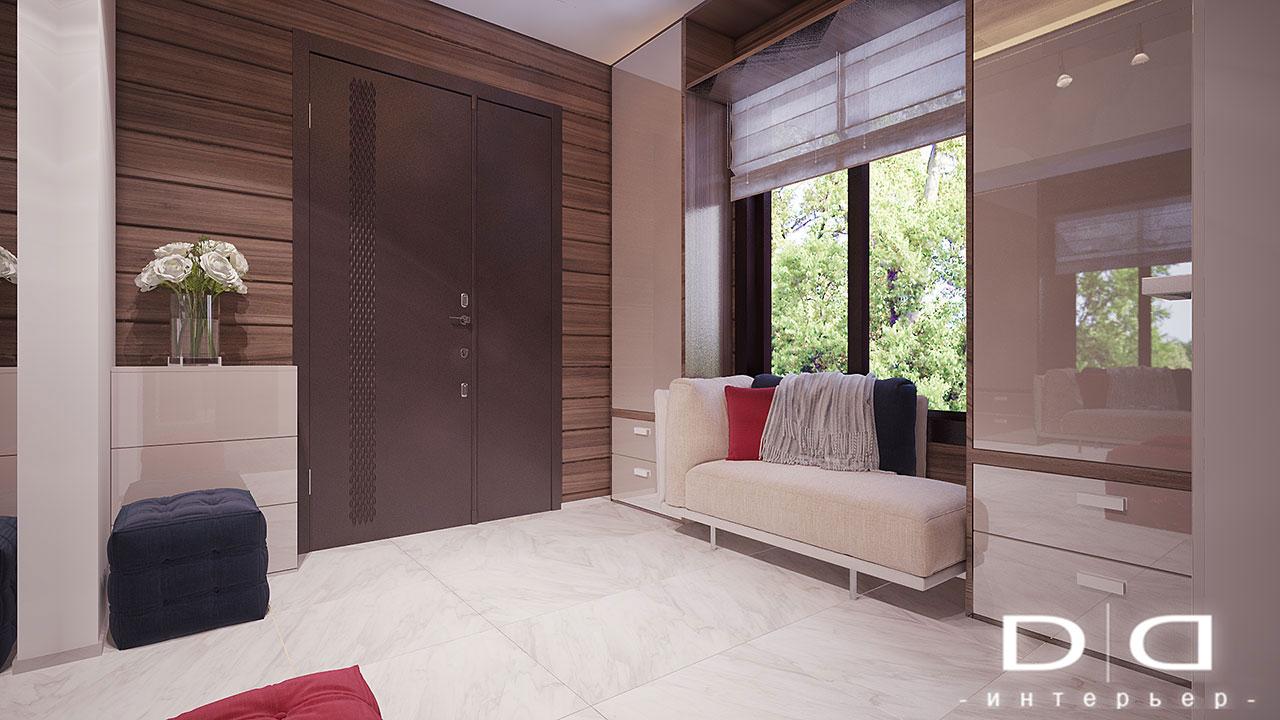 Дизайн интерьера дома, деревянного дома из бруса Минск dd-interior.by 001Tхол-002