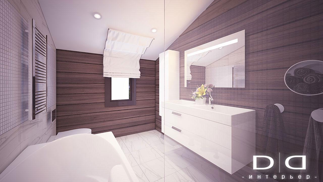 Дизайн интерьера дома, деревянного дома из бруса Минск dd-interior.by tДЕТСКАЯ-в-006