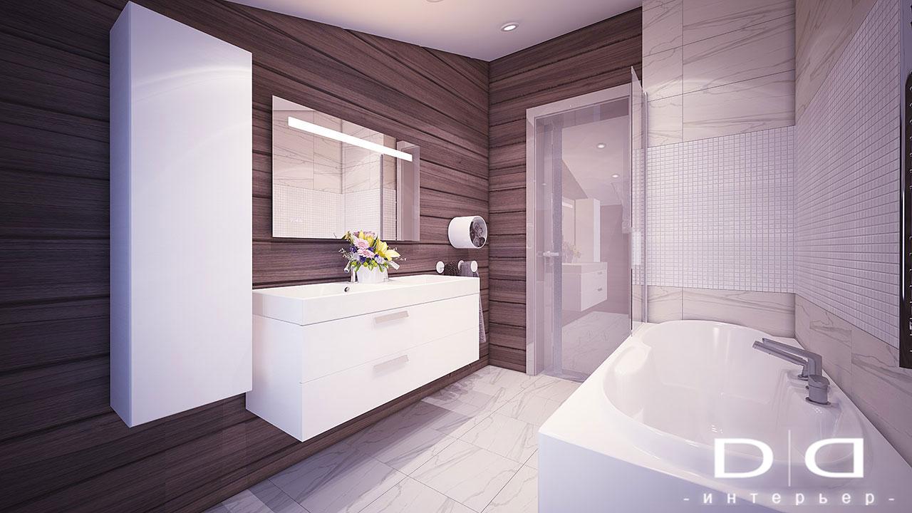 Дизайн интерьера дома, деревянного дома из бруса Минск dd-interior.by tДЕТСКАЯ-в-007