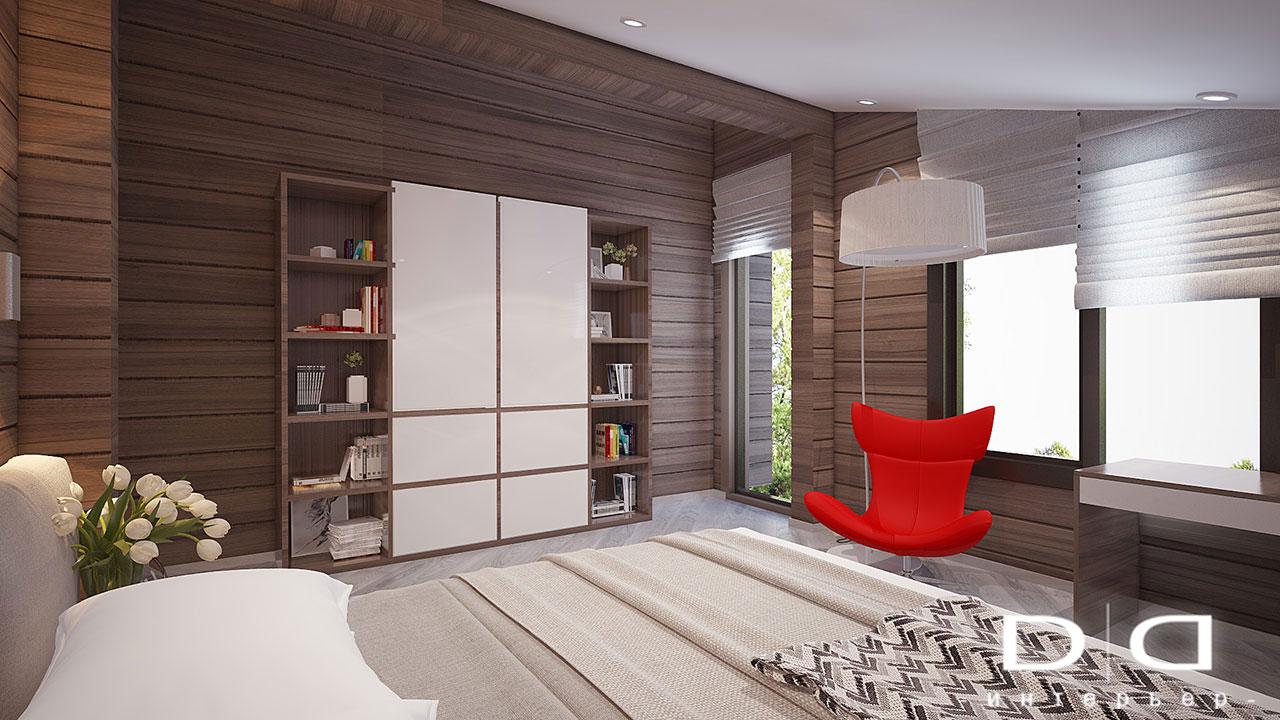 Дизайн интерьера дома, деревянного дома из бруса Минск dd-interior.by tдетская2-003