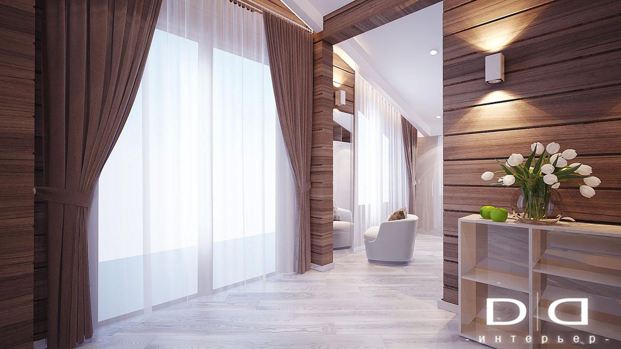 Дизайн интерьера дома, деревянного дома из бруса Минск dd-interior.by tспальня-буд-002