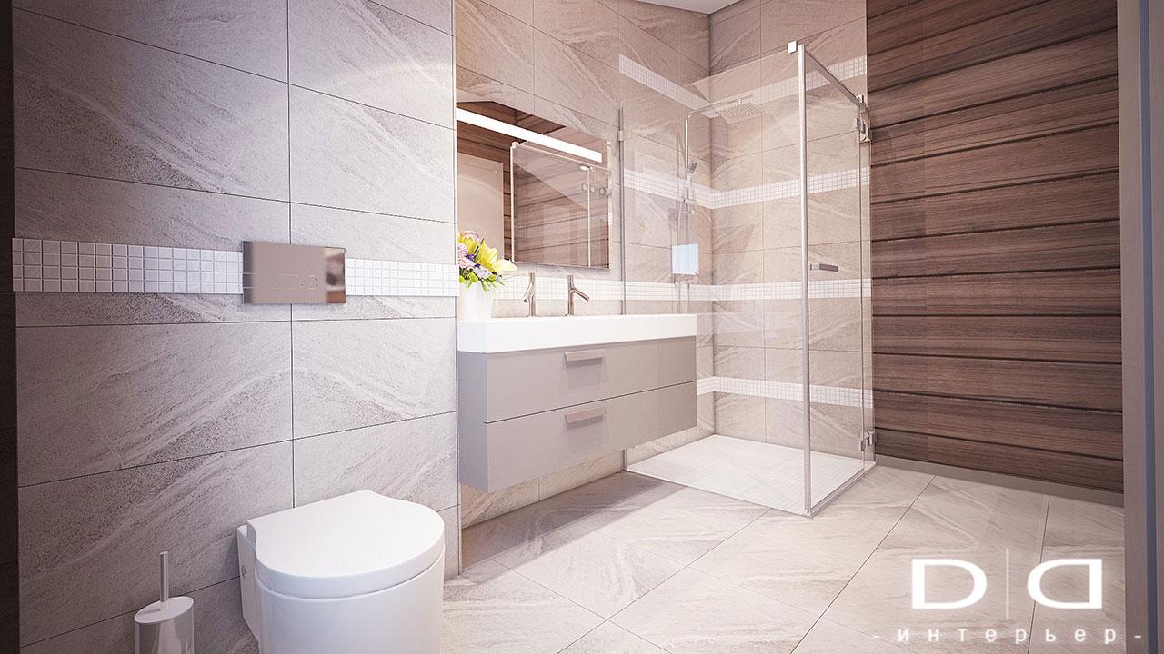 Дизайн интерьера дома, деревянного дома из бруса Минск dd-interior.by tспальня-в-002