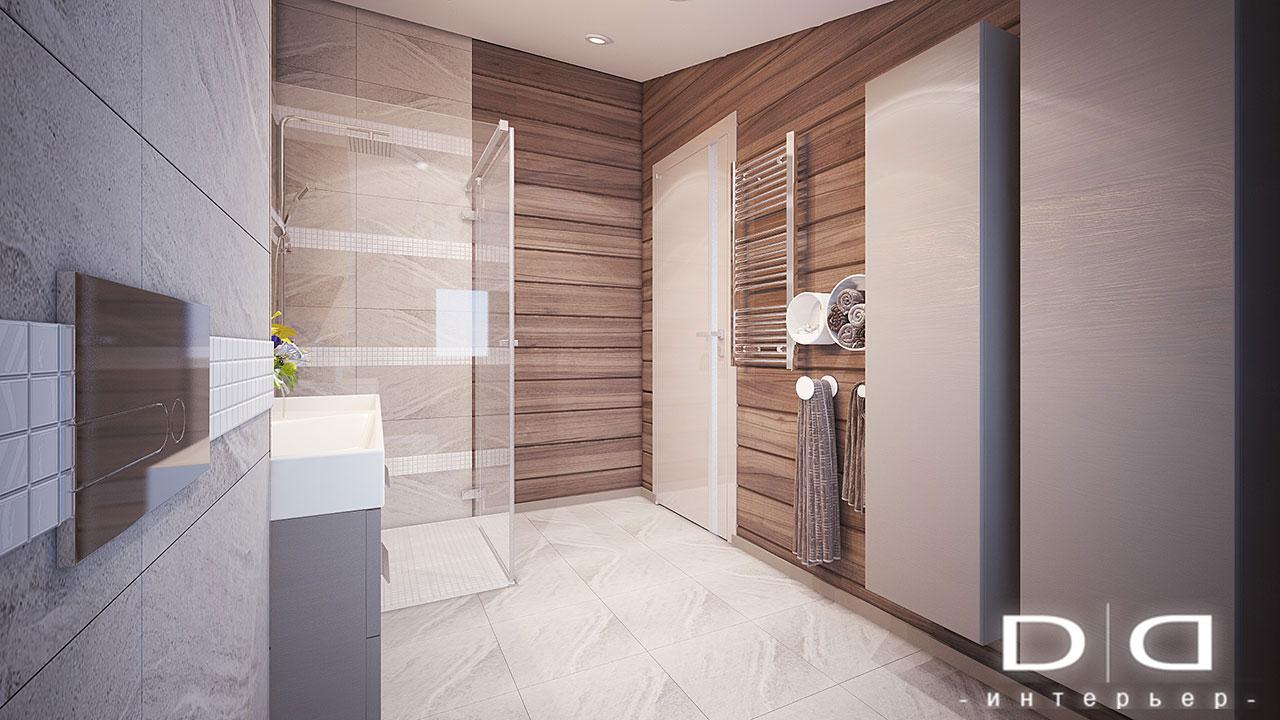 Дизайн интерьера дома, деревянного дома из бруса Минск dd-interior.by tспальня-в-004