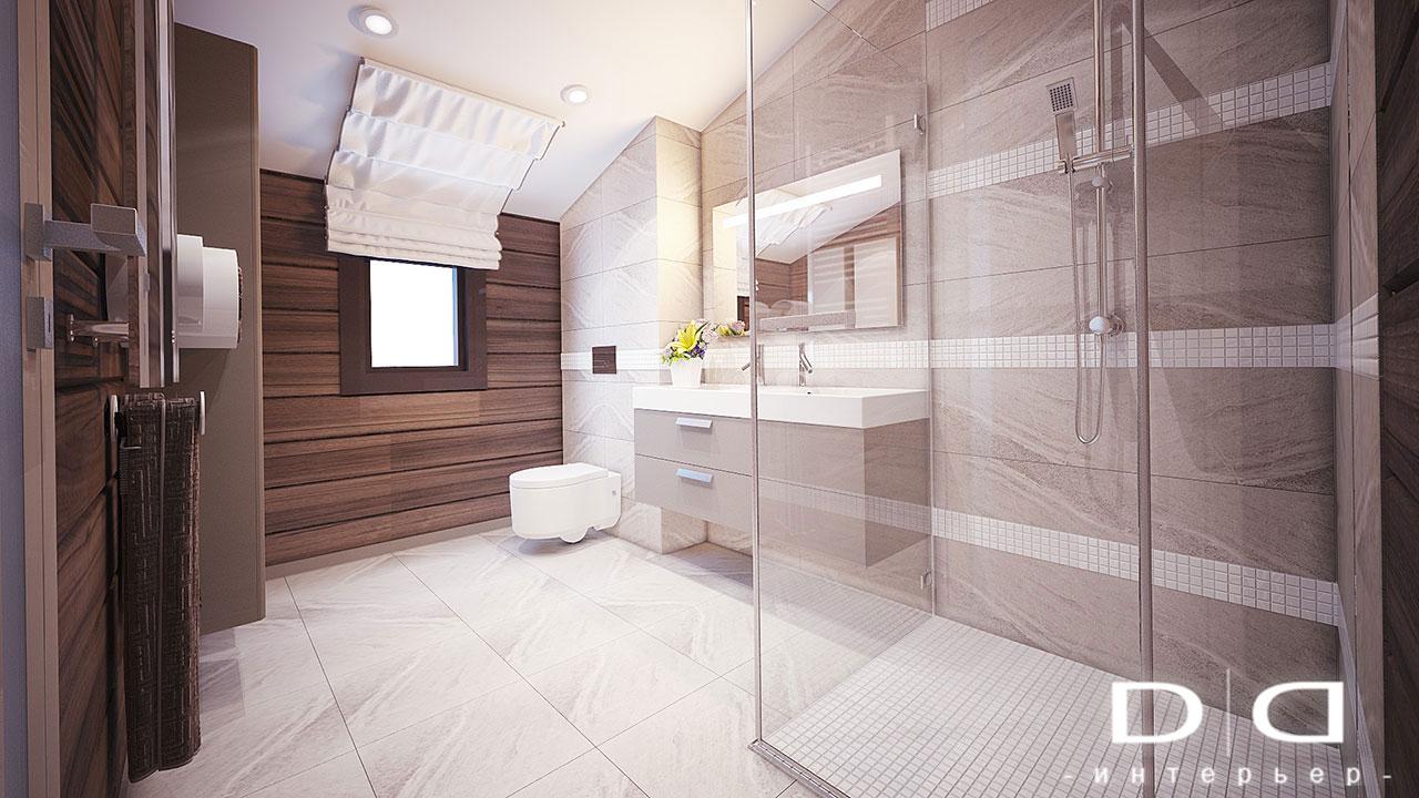 Дизайн интерьера дома, деревянного дома из бруса Минск dd-interior.by tспальня-в-01