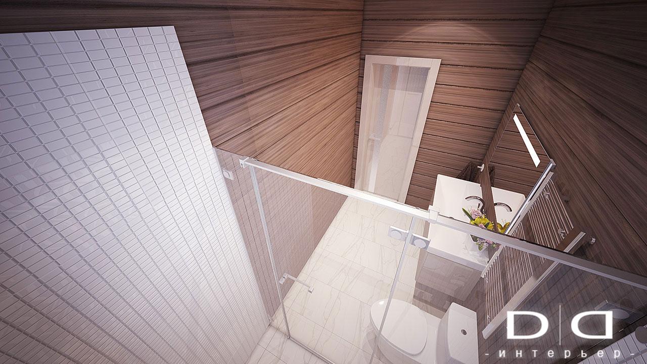 Дизайн интерьера дома, деревянного дома из бруса Минск dd-interior.by tсу-перв--эт-003