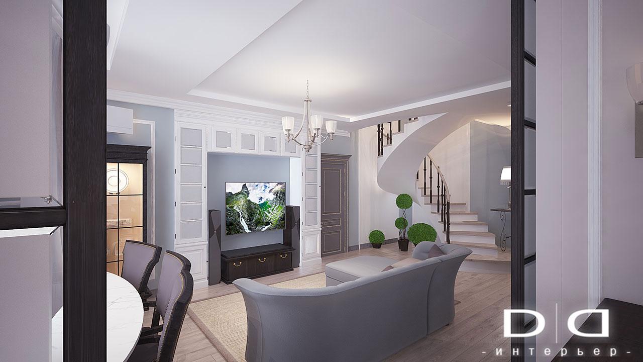 Дизайн интерьера квартиры Минск dd-interior.by nnгост-007