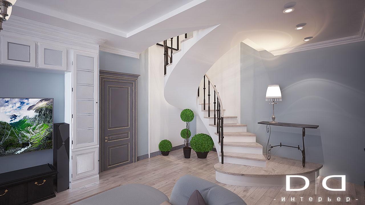 Дизайн интерьера квартиры Минск dd-interior.by nnгост-008
