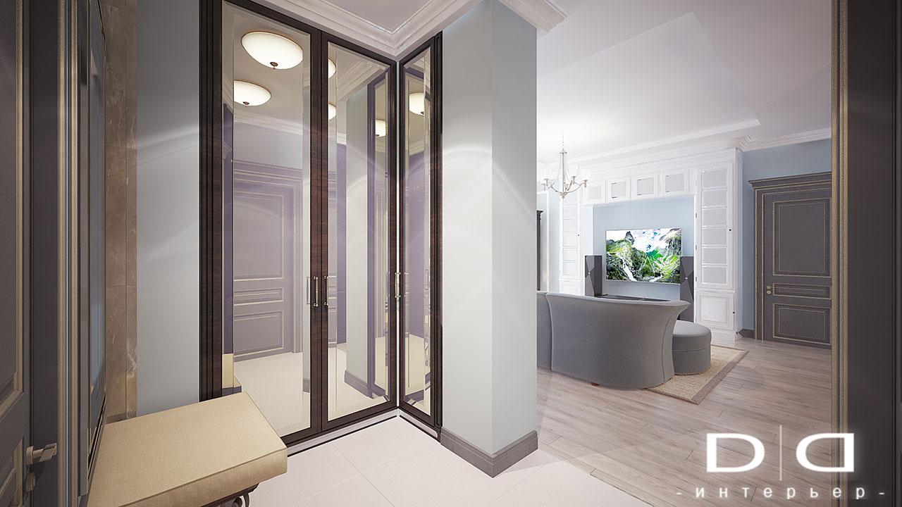 Дизайн интерьера квартиры Минск dd-interior.by nnгост-012