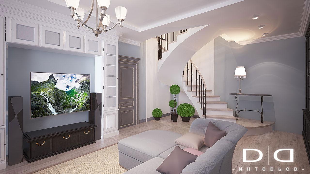 Дизайн интерьера квартиры Минск dd-interior.by nnгост-014